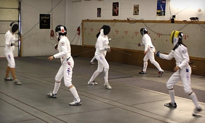 Alamo Fencing Academy - Northeast San Antonio: Fencing Instruction at Alamo Fencing Academy. Three Options Available.