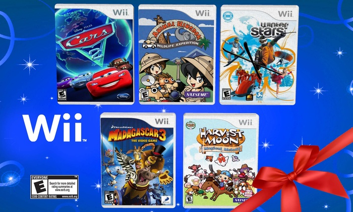 Wii 5 Game Fun Pack Groupon Goods