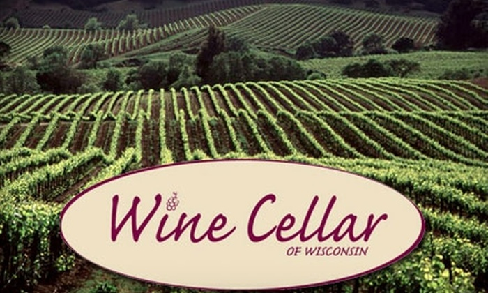 Wine Cellar of Wisconsin - Elm Grove: $10 for $20 Worth of Bottled Wine and Accessories at Wine Cellar of Wisconsin in Elm Grove