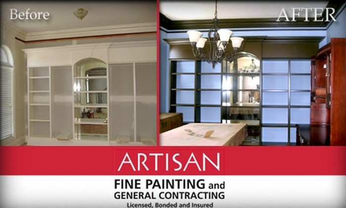 Artisan Fine Painting - Indianapolis: $85 for a One-Room Painting From Artisan Fine Painting and Contracting (Up to $324 Value)