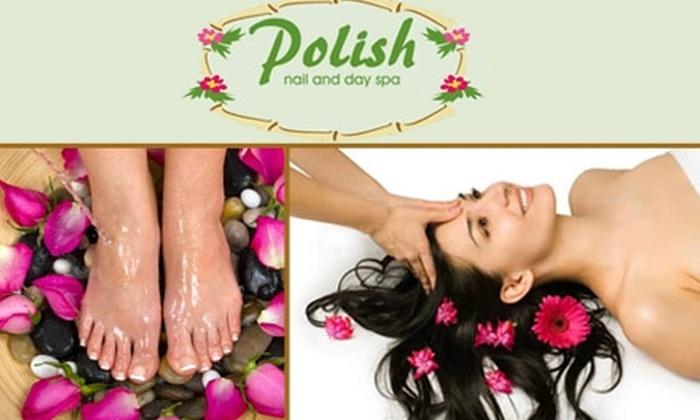 Polish Nail and Day Spa  - Grey Gables/Bon Air: $24 for $60 Worth of Facials, Manicures, and More at Polish Nail and Day Spa