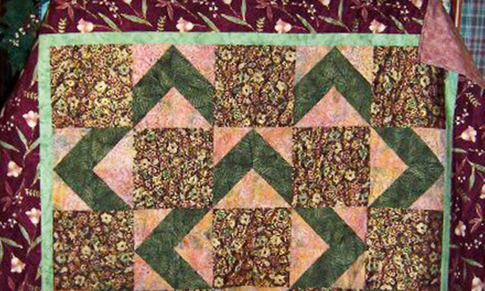 Bayberry Quilt and Gift Shoppe - Chicopee: $18 for a Four-Week Quilting Class at Bayberry Quilt and Gift Shoppe in Chicopee ($36 Value)