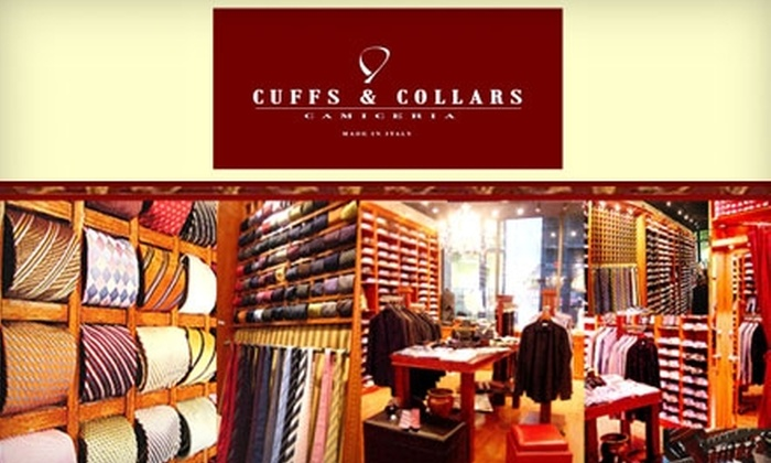 Cuffs & Collars - Downtown: $95 for $205 Worth of Apparel and Accessories at Cuffs & Collars
