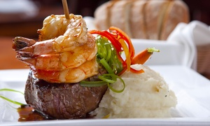 The Grubfather: Choice of Main Meals from R130 for Two at The Grubfather (Up to 54% Off)
