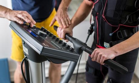 6 o 12 sesiones de electroestimulación muscular con entrenador personal desde 69,95 € en Elefit20