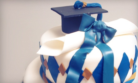 One-Tier Cake that Serves Up to 30 People (a $120 value) - Passion for Pastry in Boca Raton