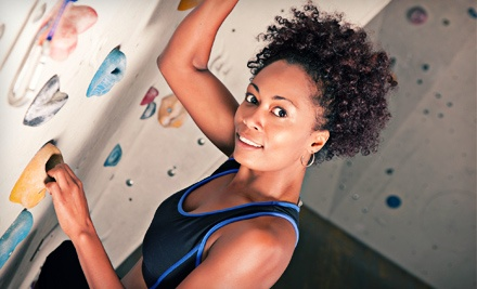 $59.25 for a Day of Indoor Rock Climbing with Gear and Intro Lesson for Two at Stone Age Rock Gym ($118.50 Value)