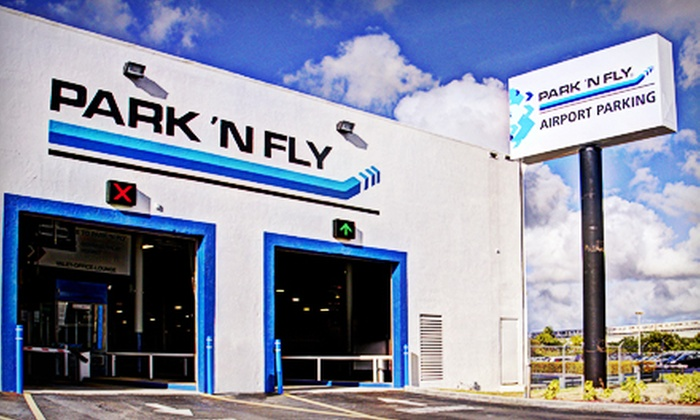 Park 'N Fly - Miami: $7 for One Day of Indoor Valet Airport Parking at Park 'N Fly (Up to $14 Value)