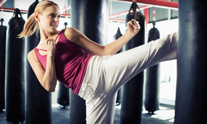 Chi's Martial Arts Training Center - Multiple Locations: 10 or 20 Cardio-Kickboxing or Cage-Fighting Fitness Classes at Chi's Martial Arts Training Center (Up to 87% Off)