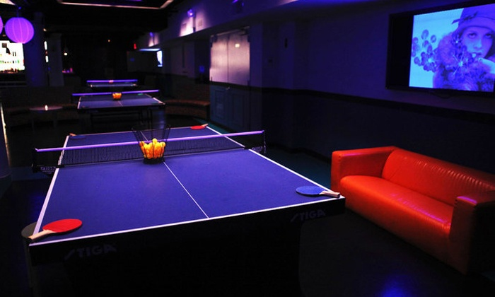 Spin New York - Flatiron District: Light Lunch and Ping-Pong for Two, or Happy-Hour Snacks and Drinks for Two at Spin New York (Up to 60% Off)