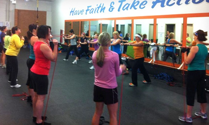 Fitness Revolution  - Chanhassen: One or Two Months of Unlimited Personal Training Boot-Camp Classes at Look Great at the Lake Boot Camp (Up to 87% Off)