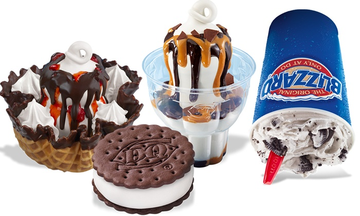 Dairy Queen - Multiple Locations: Ice Cream and Treats or Ice Cream Cake at Dairy Queen (Up to 50% Off)