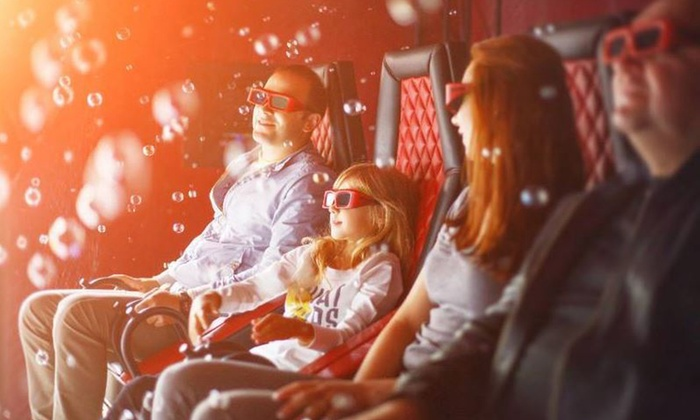 7D Adventures - Wildwood: Movie with Popcorn for 2 or 4 or a Birthday-Party Package for Up to 20 at 7D Adventure (Up to 50% Off)