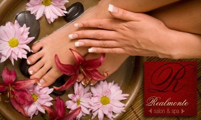 Realmonte Salon and Spa  - Gates: $33 for Mani-Pedi at Realmonte Salon and Spa ($67 Value)