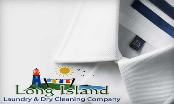 Long Island Laundry & Dry Cleaning - Glen Cove: $15 for $30 Worth of Laundry and Dry Cleaning from Long Island Laundry and Dry Cleaning