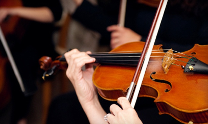 The Chamber Orchestra of the Triangle at the Carolina Theatre - Downtown: Tickets to Performances by The Chamber Orchestra of the Triangle in Durham. Two Options Available.