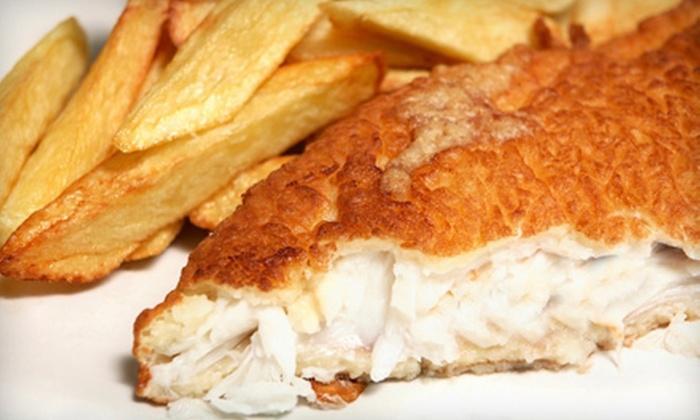 El Amin's Fish House - Willard-Hay: $10 for $25 Worth of Seafood at El Amin's Fish House