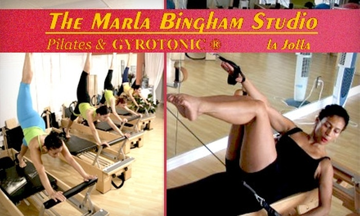 Marla Bingham Studio - San Diego: $49 for Five Group Reformer Pilates Classes at Marla Bingham Studio in La Jolla ($150 Value)