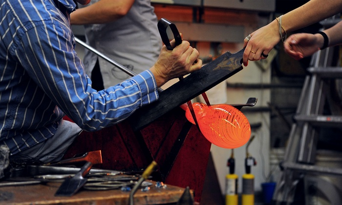 Glass-Blowing Workshop - Diablo Glass School: Glass-Blowing Demonstration at Diablo Glass School