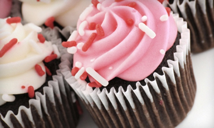 Craving 4 Cupcakes - Middletown - Pelham Bay: $19 for a Cupcake Package with a Dozen Mini and a Dozen Regular Cupcakes at Craving 4 Cupcakes in the Bronx ($45 Value)