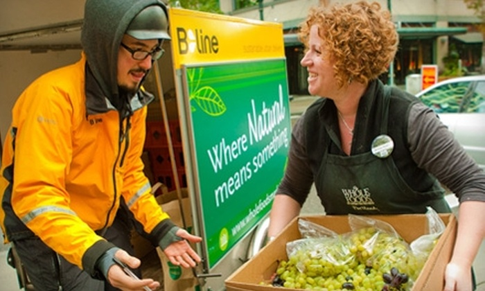 B-Line: Donate $10 to Help B-Line Deliver Surplus Food to Urban Programs Feeding Hungry Oregonians