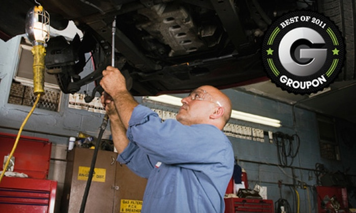 Patriot Tire & Auto - Multiple Locations: One or Two Oil Changes or One Wheel Alignment at Patriot Tire & Auto (Up to 54% Off)