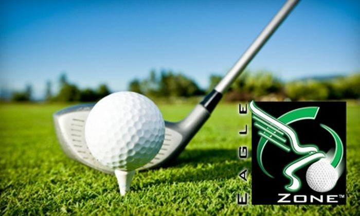 The Eagle Zone Golf Center - Greenville: $10 for All-Access Day Pass at The Eagle Zone Golf Center ($20 Value)