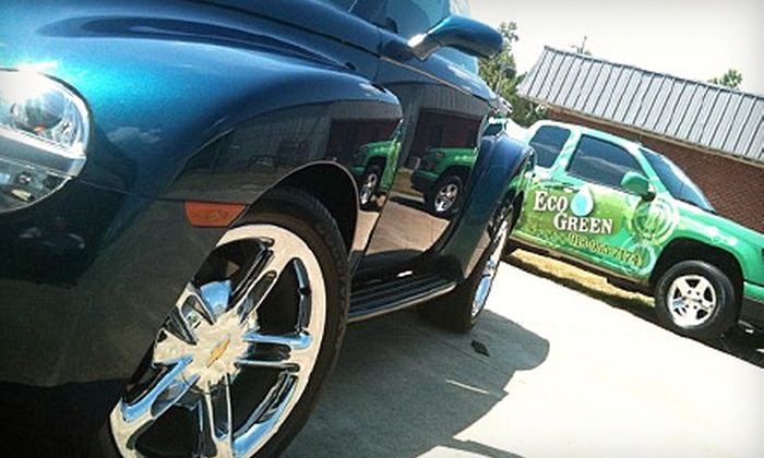 Eco Green  - Oak Crest: Full or Mini Waterless Auto Detailing for Car or Truck and SUV from Eco Green