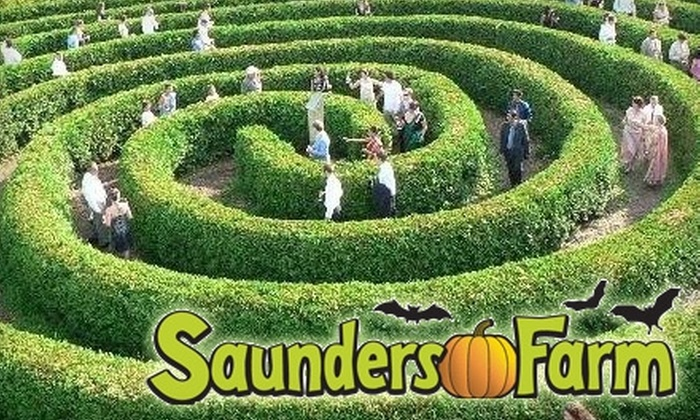 Saunders Farm - Munster Hamlet - Richmond: $15 for Admission to Saunders Farm's Halloween EEK-stravaganza and a Bag of Kettle Corn on October 31