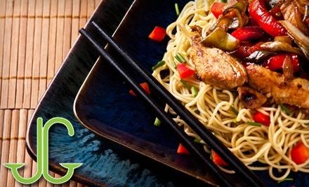 $15 Groupon to Jade Garden Chinese & Thai Cuisine - Jade Garden Chinese & Thai Cuisine in Barrie