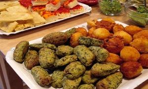 Alimenteria: Menu di 6 portate vegetariane a km 0 con calice di vino per 2 o 4 persone da Alimenteria