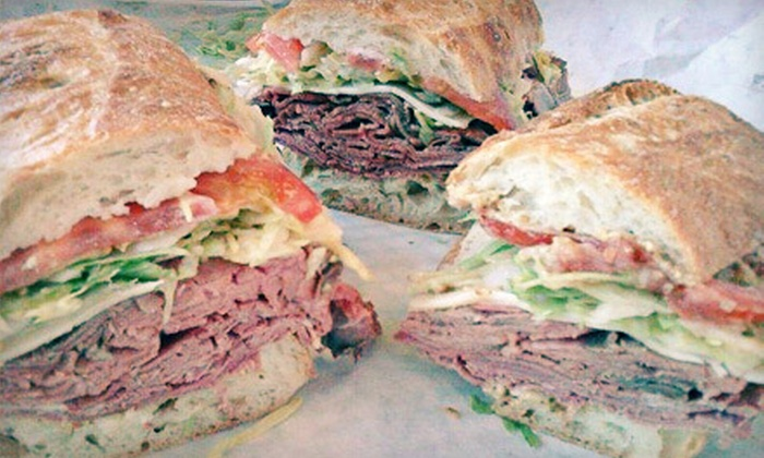 Manzano's Fine Foods - New Smyrna Beach: Paninis and Fine Italian Food at Manzano's Fine Foods in New Smyrna Beach (50% Off). Two Options Available.