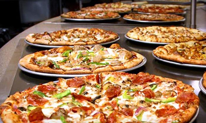 Tazinos Pizza & Salad Bistro - Multiple Locations: $10 for $20 Worth of Self-Serve Italian Fare at Tazinos Pizza & Salad Bistro