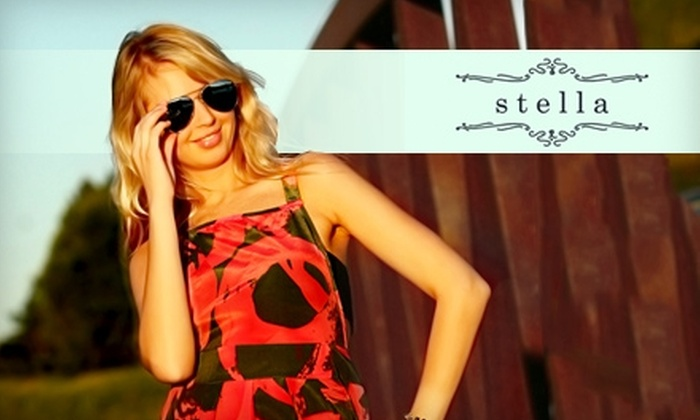 Stella Clothing - Downtown: $25 for $50 Worth Apparel, Accessories, and More at Stella Clothing