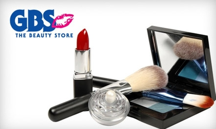 GBS The Beauty Store - Multiple Locations: $15 for $30 Worth of Beauty Products at GBS The Beauty Store