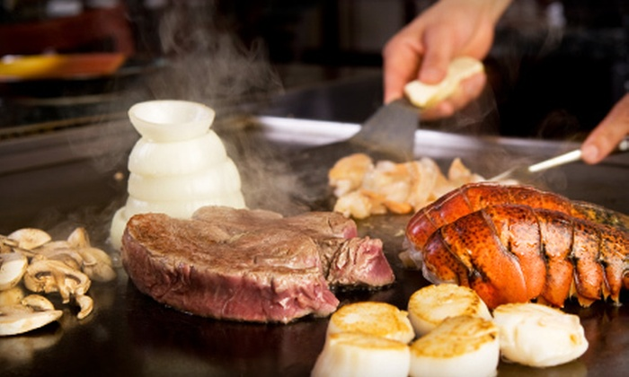 Domo 77 - Wheaton: $20 for $40 Worth of Hibachi-Style Steak and Seafood at Domo77. Two Options Available.