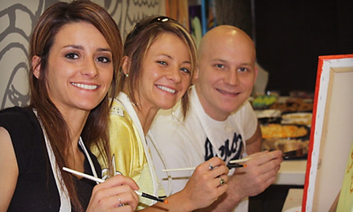 Rembrandt All You Can Art - Metairie: $28 for a BYOB Painting Class for Two People at Rembrandt All You Can Art in Metairie ($78 Value)
