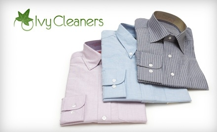 $25 Groupon to Ivy Cleaners - Ivy Cleaners in Plymouth