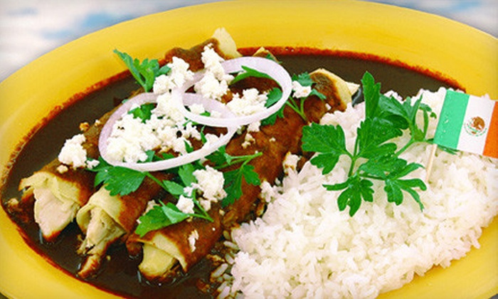 Monte Alban Restaurant - West Los Angeles: $15 for $30 Worth of Oaxacan Fare Friday–Sunday or $35 Worth Monday–Thursday at Monte Alban Restaurant