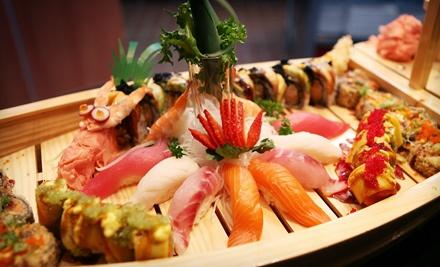$50 Groupon to Shinto Japanese Steakhouse & Sushi Bar - Shinto Japanese Steakhouse & Sushi Bar in Naperville