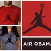 """laura cat shoppe - Chicago: """"Air Obama"""" Recycled Cotton T-Shirt"""