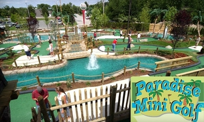 Paradise Mini Golf - Middleton: $25 for $50 Worth of Mini Golf at Paradise Mini Golf