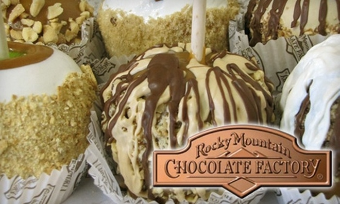Rocky Mountain Chocolate Factory - Country Club Plaza: $11 for Four Old-Fashioned Caramel Apples at Rocky Mountain Chocolate Factory