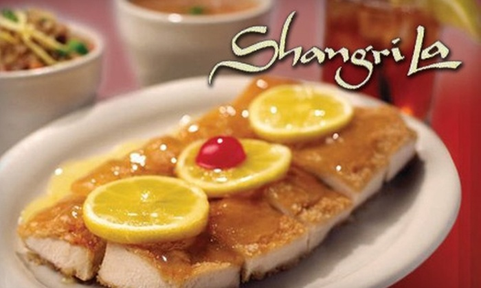 Shangri-La - Mesa Vista: $10 for $20 Worth of Chinese Cuisine and Drinks at Shangri-La