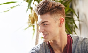 Jacques La Coupe: Men's Haircut and Styling with Optional Shave and Manicure at Jacques La Coupe (Up to 67% Off)