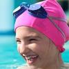 Hydrodynamic Non-Resistant Lycra Swim Cap