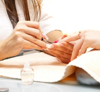 Super Nails: $10 Off Deluxe Manicure and Pedicure at Super Nails