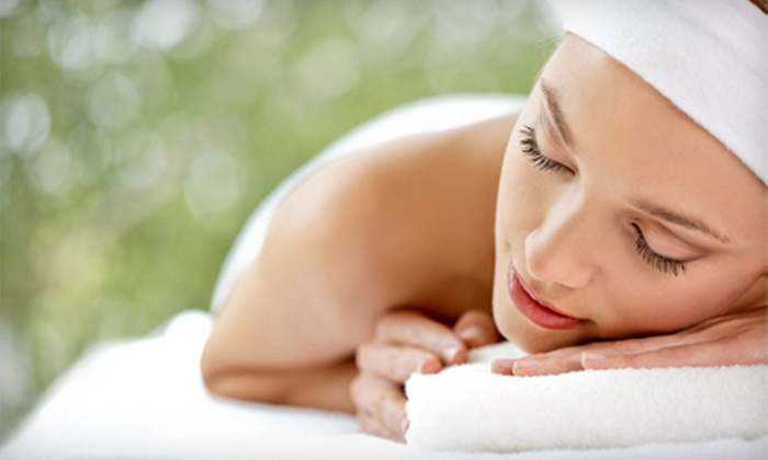 Salon Lux - Cranston: Aromatherapy Facial, Reiki Massage with Reflexology on the Hands and Feet, or Both at Salon Lux (Up to 60% Off)