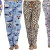 3-Pack of Women's Flannel Fleece Pajamas