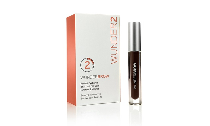 Wunderbrow Brow Gel With Cleanser Groupon Goods